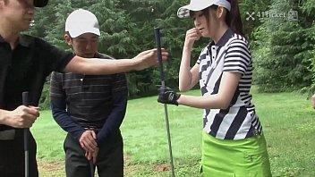 41Ticket Michiru Tsukino Creampied by Golf Instructor (Uncensored JAV)